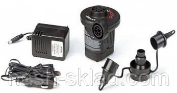 Насос електрический Intex, для всех надувных изделий фирм Intex, BestWay., фото 3