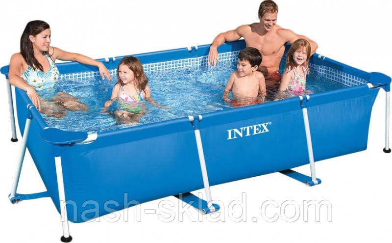 Бассейн каркасный Intex (220х150х60 см)
