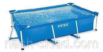 Бассейн каркасный Intex (260x160x65 см), фото 2