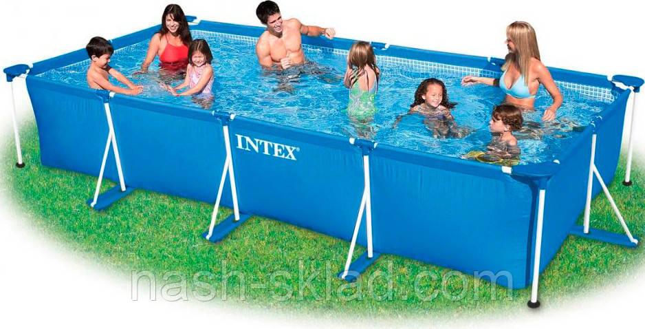 Бассейн каркасный Intex (300х200х75 см)