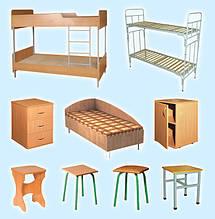 Мебель для гостиниц и общежитий, армейская мебель