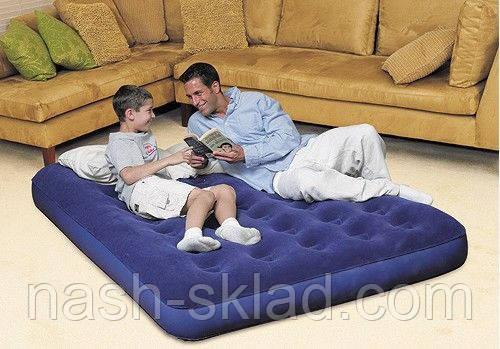 Двухспальный надувной матрас Bestway, фото 2