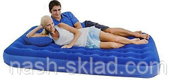 Двухспальный надувной матрас Bestway, фото 3