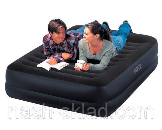 Надувная кровать Intex 152х203х42 см, фото 2