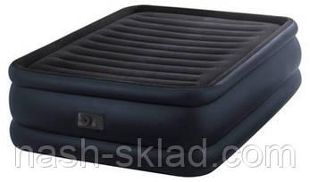 Велюровая надувная кровать Intex , фото 2
