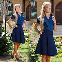 Женская стильная блузка  ДГ278, фото 1