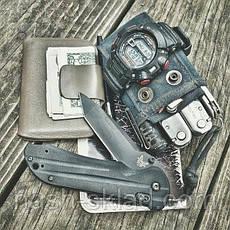 Нож выкидуха, рукоять G10, отличного качества, фото 2