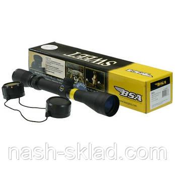 Прицел оптический 3-9x32 BSA , просветленные линзы, Mildot прицельная сетка, фото 2