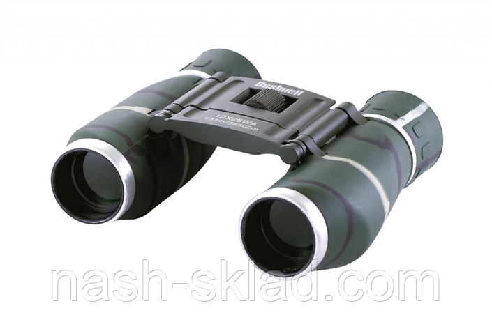Бинокль 12х25 Bushnell, компактный и удобный, чехол в комплекте, фото 2
