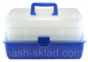Ящик для рыбалки, органайзер для снастей, подарок рыбаку по доступной цене, фото 2