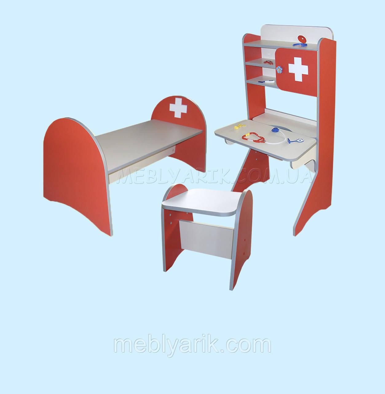 Игровой набор мебели «Больница детская»