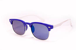 Детские очки clabmaster 8482-4 Сине-белые sniUS-8482-4, КОД: 1073737