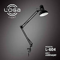 Лампа настольная со струбциной