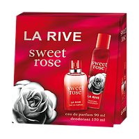 Женский подарочный набор La Rive Sweet Rose edp 90 мл + deo 150 мл hubkcec58674, КОД: 1024654