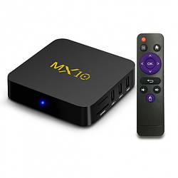 Медиаплеер Android TV Smart Box NetBox MX10 4/32 Gb (FL-175)