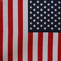Бандана 55х55 Флаг США K151, КОД: 131905