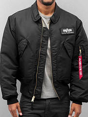 Куртка Alpha Industries CWU 45P XL Black, КОД: 1313189