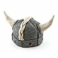 Банная шапка Luxyart Викинг Серый LA-470, КОД: 1101580