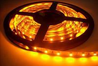 Светодиодная лента SMD 3528 60 шт/м Желтая (цена за 5 метров)