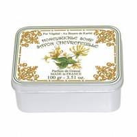 Натуральное мыло в жестяной упаковке Le Blanc Жимолость 100 г 97408, КОД: 1089698