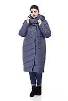 Зимняя женская куртка ORIGA Вероника 52 Джинс, КОД: 1341621