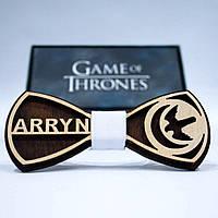 Эксклюзивный галстук-бабочка из дерева KRAGO Game of Thrones Arryn KRG-01006, КОД: 187260
