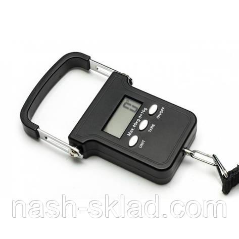 Весы кантер электронный на 40 кг, фото 2
