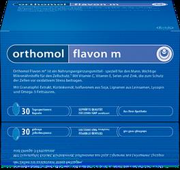 Витамины Orthomol Flavon M профилактика заболеваний простаты 90 капсул flav, КОД: 1261628