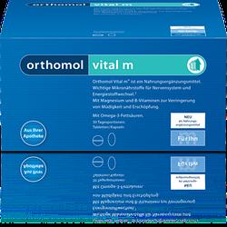 Витамины Orthomol Vital M для мужчин при хронической усталости   эмоциональном выгорании 120 капс, КОД: 1262387