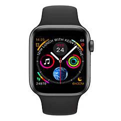 Умные смарт часы IWO 10 с измерением давления Черный swlemw54bl, КОД: 1348884