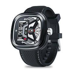 Умные смарт часы Zeblaze Hybrid 2 с измерением давления Черный swzebhybr2bl, КОД: 1348909