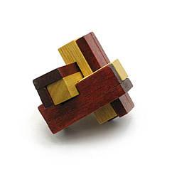 Головоломка DUKE деревянная 6х6х6 см DN27894, КОД: 285877
