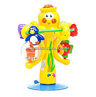Игрушка на присоске Kiddieland Музыкальный осьминог со светом и звуком (038190) , фото 2