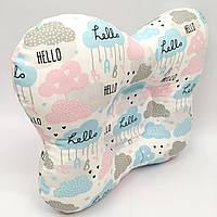 Подушка ортопедическая типа бабочка для новорожденных Sindbaby из ткани Baby 01-ПО-22, КОД: 1314960