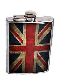 Фляга DevayS Maker DM 01 Great Britain Flag Красная (26-08-60)