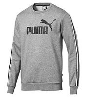 Світшот Puma Tape Crew 03 M Grey, КОД: 1002936