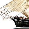 Парусный корабль модель 45 см CUTTY SARK СS21, фото 5