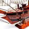 Модель парусника деревянная 50 см 26963, фото 4