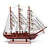 Модель парусника деревянная 50 см 26963, фото 5