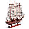 Модель парусника деревянная 50 см 26963, фото 6