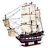 Модель корабля из дерева LE SOLЕIL ROYAL 80 см 65003, фото 2