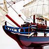 Модель корабля из дерева LE SOLЕIL ROYAL 80 см 65003, фото 3