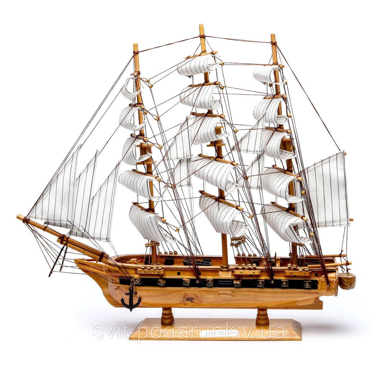 Модель корабля из дерева 50см 2424