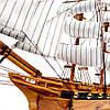 Модель корабля из дерева 50см 2424, фото 3