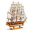 Модель корабля из дерева 50см 2424, фото 5
