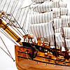 Модель корабля Uss Vailiant 50см 2425, фото 3
