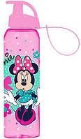 Бутылка спортивная Herevin Disney Minnie Mouse-II 500 мл Розовая с рисунком psgUK-161414-021, КОД: 944690