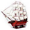 Модель парусника Spanish Galeon 95 см 8083, фото 7