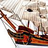 Модель парусного корабля Bounty из дерева 50 см S5005, фото 3