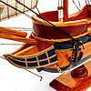 Модель парусного корабля Bounty из дерева 50 см S5005, фото 4